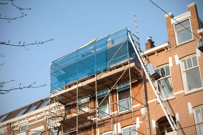 hoge steiger huren dakwerk