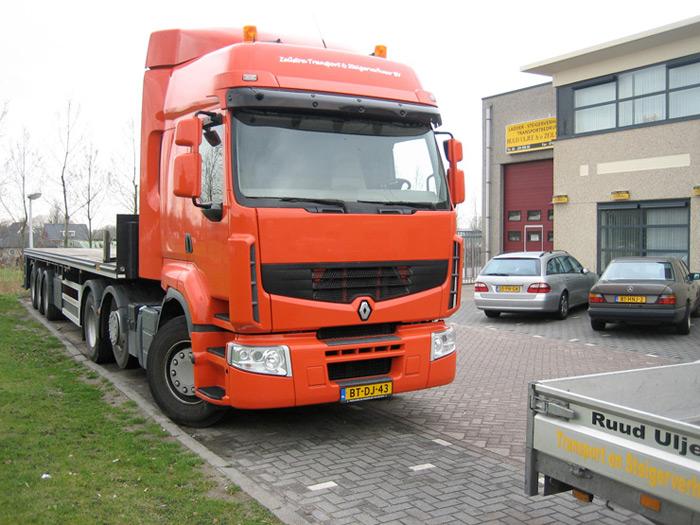 vrachtwagen transport zeilstra